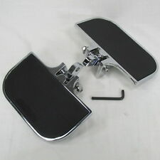 Universal Fit Mini Chrome Floor Boards Clevis Style Mount Harley FXR Sportster