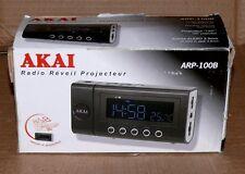 AKAI ARP100B Projektion Uhr Radio Thermometer Snooze Wecker Sensor AUX UKW MW