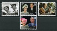Tristan da Cunha 2017 MNH Queen Elizabeth II Platinum Wedding 4v Royalty Stamps