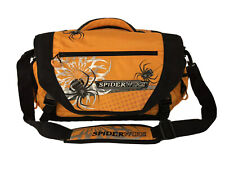 Orange Spiderwire Fishing Tackle Bag With 4 Utility Boxes