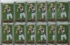 (25) Johnny Manziel 2014 Topps Chrome Rookie RC #169 INVESTOR LOT BROWNS