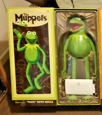 KERMIT THE FROG FULL SIZE PHOTO PUPPET MUPPET BY MASTER REPLICAS PROP JIM HENSON
