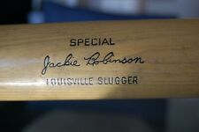 Jackie Robinson vintage Louisville Slugger baseball bat.  Hillerich and Bradsby.