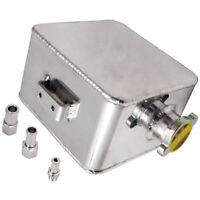 2.5Liter Universal Aluminum Alloy Coolant Expansion Overflow Water Tank W/ Cap