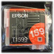 OEM EPSON 159 ORANGE INK CARTRIDGE T1599 FOR STYLUS R2000 New, Sealed