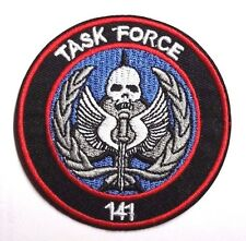 "CALL OF DUTY 141 Task Force Color Logo 3"" Embroidered Patch- FREE S&H(CDPA02-Sm)"