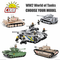 COBI World of Tanks WOT Construction Sets - Choose Your Model