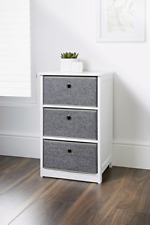 3 Drawer Stunning Easy Link Folding  Chest Stylish & Durable W37 x D34 x H61cm