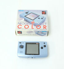 Neo Geo Pocket Color Snk Game Console Handheld Blue NEOP1201 Working Excellent++
