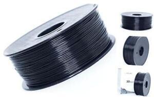 ASA 3D Printer Filament, UV and Weather Resistant Filament,1.75mm 1kg Black