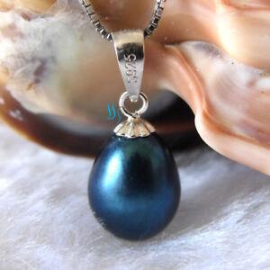 7.5*8.5mm Drop Freshwater Pearl Pendant P1S Pearl Jewelry UK——MORE COLORS