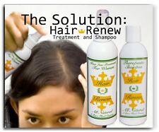 WOMENS HAIR RENEW COMBO natural treatment shampoo growth thin scalp loss female