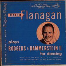 "RALPH FLANAGAN! - ""RODGERS & HAMMERSTEIN II"" RCA EPA-268 EXT PLAY VG+ VPI CLEAN!"