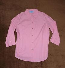 Figurbetonte 3/4 Arme Damenblusen,-Tops & -Shirts mit Klassischer Kragen für Business
