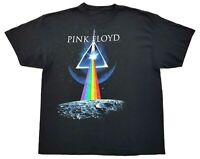 Pink Floyd Dark Side Of The Moon Tee Black Size XL Mens T Shirt Rock
