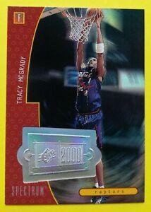 1998-99 Tracy McGRADY SPx Finite – Spectrum #165   SN17 of 75