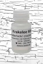 Krakelee 60ml - Krakelierlack Reißlack Antiklack Reisslack Craquelle Medium