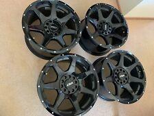 CSA Alloy Wheels Hawk Small Cap - Gloss Black 17X9 5/114.3-120 P35 x 4 off rims