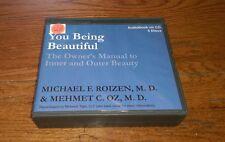 You Being Beautiful Owner's Manual Inner Outer Beauty 5 CD set Mehmet Dr. Oz OOP