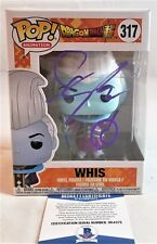 Ian SINCLAIR SIGNED Funko Pop Autograph WHIS 317 Dragon Ball Z BAS COA 372
