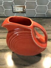 Fiestaware Small Juicer Pitcher in Persimmon