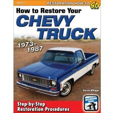 1973-1987 How to Restore & Repair Your Chevy Truck Manual Book Sa331