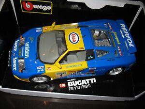 1:18 Bburago BUGATTI EB110 RACING #4 Burago