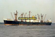 mc0041 - Elder Dempster Cargo Ship - Dumbaia , built 1960 - photo 6x4