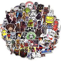 100Pcs Game Star Wars Stickers Skateboard Graffiti Laptop Luggage Car Decals
