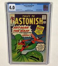 Tales to Astonish #44 CGC 4.0 BIG KEY! (1st Wasp & Origin, Ant-Man!) 1963 Marvel
