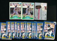 Mixed Studio Topps Score  Eddie Murray Orioles Dodgers  Lot of 25