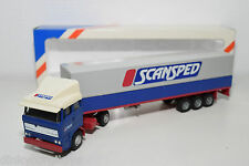 LION CAR DAF 3300 SCANSPED TRUCK WITH TRAILER MINT BOXED