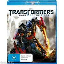 TRANSFORMERS 3: DARK OF THE MOON Blu-Ray - BRAND NEW + SEALED - AUS REGION B