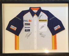 Official Renault/ING Formula 1 Signed Team Jersey (FRAMED)