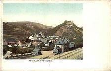 Altenahr Rheinland-Pfalz Postkarte ~1900 Bahnhof Burgruine Ruine Burg Litho-AK