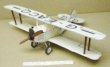 Avro 534 Baby Light Sport Biplane Airplane Desktop Wood Model Small
