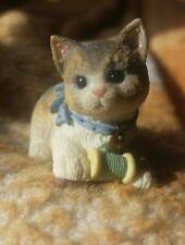 "1997 Enesco Calico Kittens ""Calico Manx"" #336688 - Great Condition"