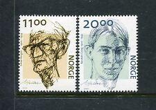 Norway1336-1337 MNH 2002 Johann Borgen & Nordahl Grieg  x23318