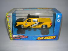 Maisto Fresh Metal 4 x 4 Rebels Chevrolet Pickup gelb / yellow 11,5 cm