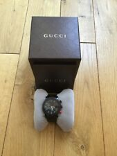 Gucci G-Chrono Red Topaz Mens Watch YA101348, Excellent Condition, Rrp $2,995