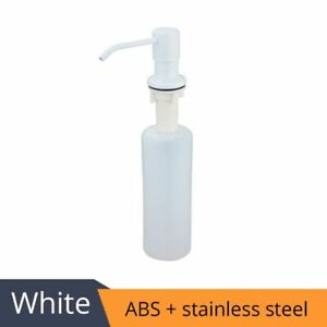 Deck Mounted Kitchen 400ml Soap Dispensers Stainless Steel Pump Chrome Finished