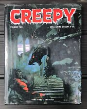 Creepy Archives Volume 2 Hardcover Collects #6-10 Frazetta Toth Wood Colan Ditko