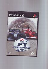 F1 Championship Season 2000-Gioco PS2/60 GB PS3 compatibile original & COMPLETA