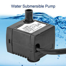 Mini Ultra-Quiet Submersible Water Pump Fish Pond Aquarium Tank Fountain