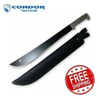"""Condor El Salvador Machete - 18"""" Blade - Micarta Handle - Sheath"""