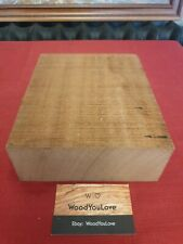🍁Mahogany 'Sapele' Hardwood Block Wood L 21 cm x W 16.8cm x D 6.6 cm (2119 W6)