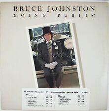 BRUCE JOHNSTON Going Public LP 1976 POP/ROCK NM- NM-
