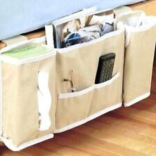 Room Bedside Hanging Caddy Pockets Storage Bag Bed Organizer Holder Shelf