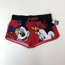 NWT Disney BRITTO Print Mickey Minnie Mouse Pajama PJ Shorts Sleepwear JRS Sz M