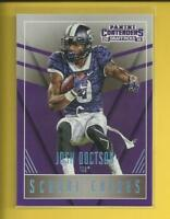 Josh Doctson RC 2016 Contenders Draft School Colors Rookie Card # 7 Redskins